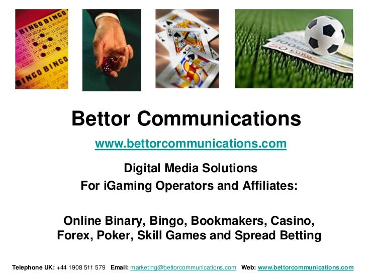Bettor Communications                         www.bettorcommunications.com                            Digital Media Soluti...