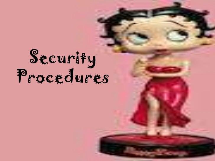 SecurityProcedures