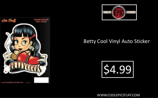 2 x Betty boop autocollants en vinyle autocollant graphique