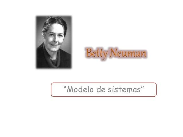 """""""Modelo de sistemas"""""""