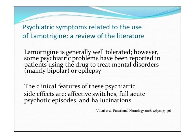 Literature review of bipolar affective disorder