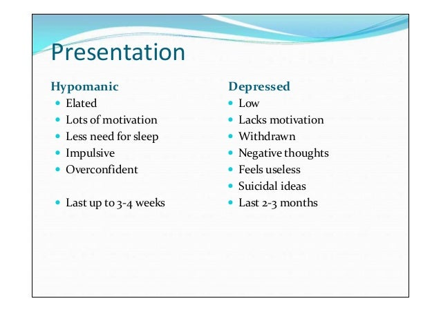 Bipolar Disorder - PowerPoint PPT Presentation