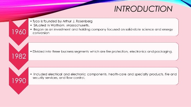 Business Ethics TYCO Case Study Slide 2