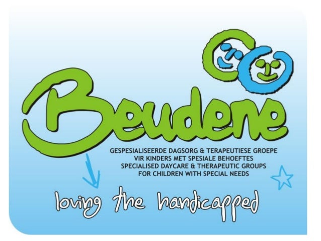 Beudene Day-care for disabled as a beneficiary of Spoudazo Enterprises, a public benefit organisation with PBO 930037272 in Bloemfontein, South Africa. Slide 1