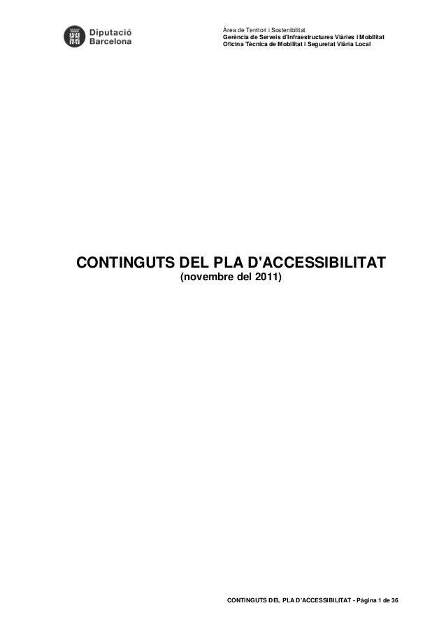 Àrea de Territori i Sostenibilitat  Gerència de Serveis d'Infraestructures Viàries i Mobilitat  Oficina Tècnica de Mobilit...
