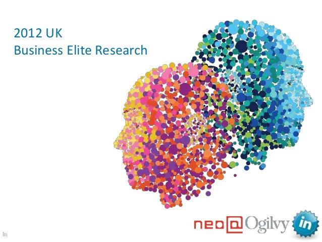 2012 UKBusiness Elite Research