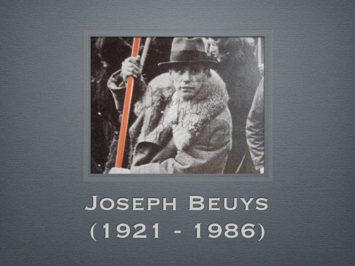 Joseph Beuys (1921 - 1986)