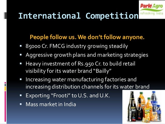 aquafina india supply chain Pepsico india has been trying to promote beverages that are not  brand  aquafina saw its market share decline from 111% in 2013 to 99% in 2016  it  has cut down costs in the supply chain and started using artificial.
