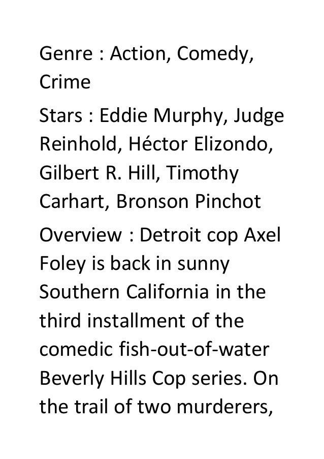 Beverly Hills Cop 2 Stream