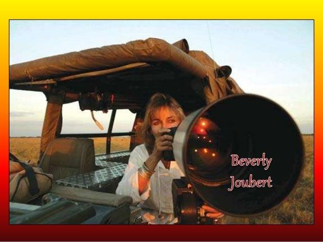 Acerca de Beverly. • Nace en el año de 1957 en Johannesburgo, Sudáfrica, y casada con Dereck Joubert un filmador de docume...