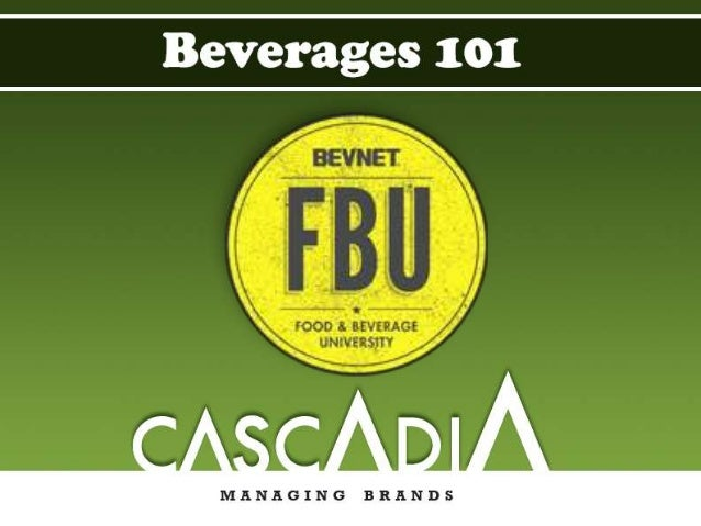 Cascadia Managing Brands Consultants specializing in the non- alcoholic beverage industry; large and small companies alike...