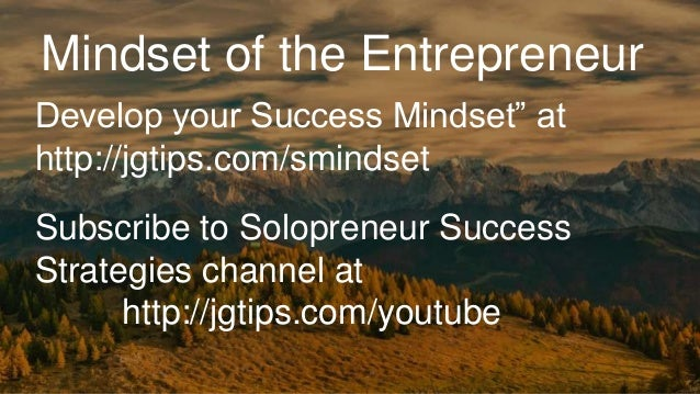 4 Mindset Shifts Creative Entrepreneurs Can Learn From ...