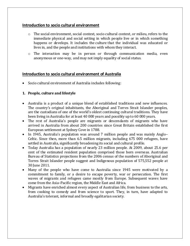 technological environment of australia The department designs and implements the australian government's policies and programmes to protect and conserve the environment, water and heritage and promote climate action home - department of the environment and energy, australian government.