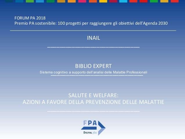 Biblio Expert - Forum PA 2018 Slide 2