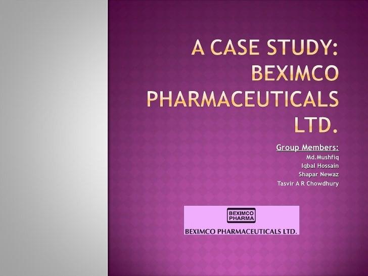 Pharmaceutical Industry Analysis of Bangladesh