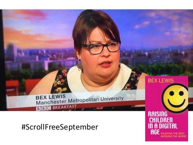 1 #ScrollFreeSeptember