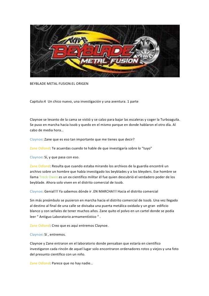 Beyblade metal fusion origen capitulo 4