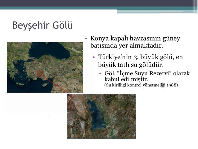 Beyşehir Gölü Optimum Işletme Koşullarının Belirlenmesi
