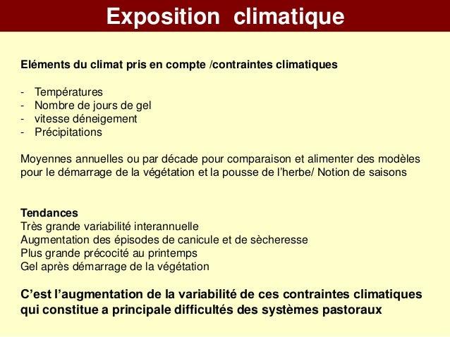 Systèmes pastoraux de PACA et changements climatiques partie 1 - BEYLIER Slide 3
