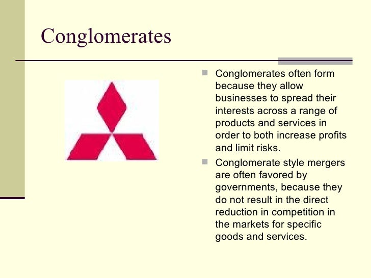 Multinationals And Conglomerates