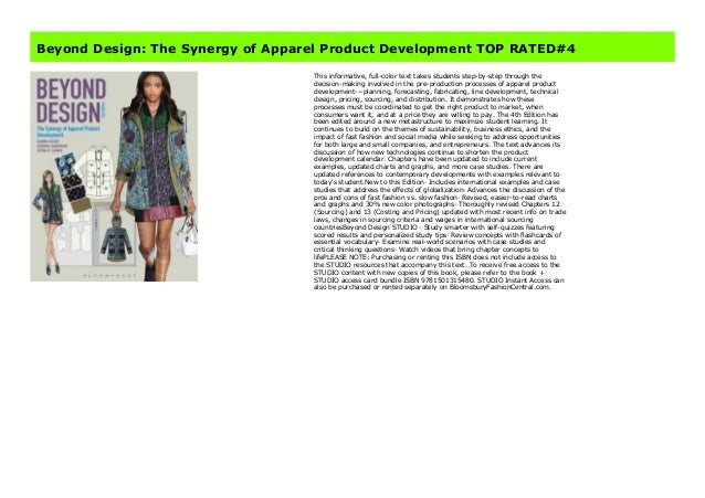 Beyond Design The Synergy Of Apparel Product Development Top Rated 4