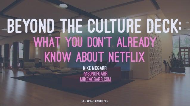 netflix culture deck