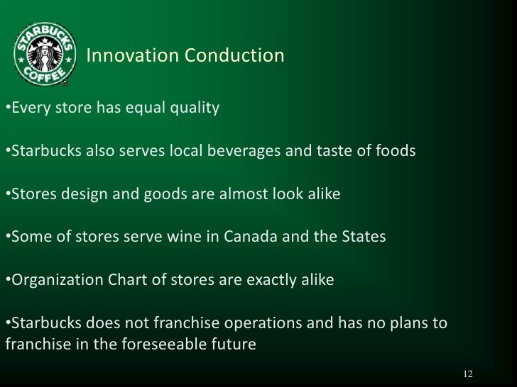 starbucks management theory Chapter 6 | operations management 129 every organization produces something, whether it's a good or a service some, like starbucks, produce both a good and a service technology has changed how productio.