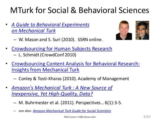 Amazon Mechanical Turk mTurk for Beginners Tutorial ...