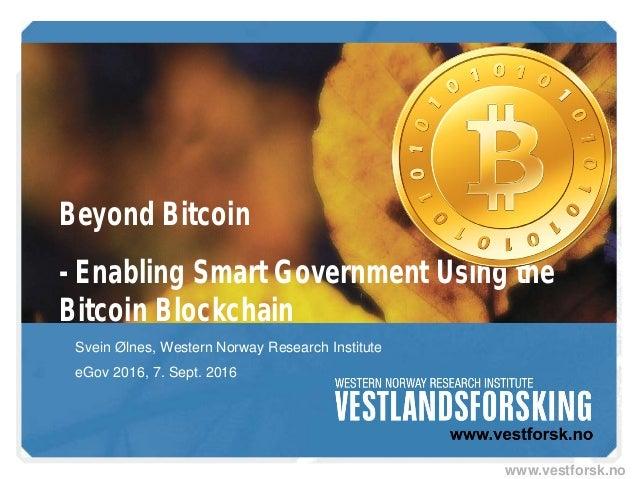 Blockchain 101 and beyond