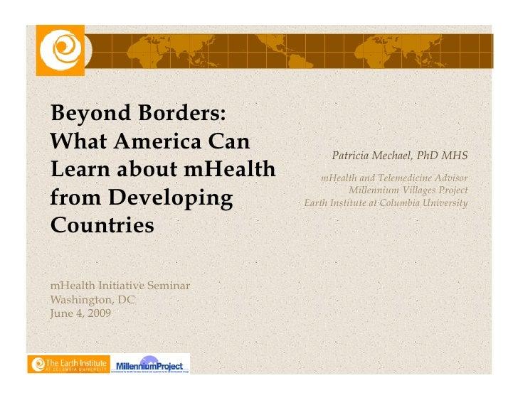 Beyond Borders.Mechael