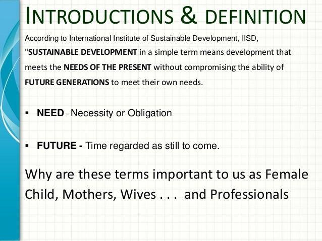 brundtland definition of sustainable development pdf