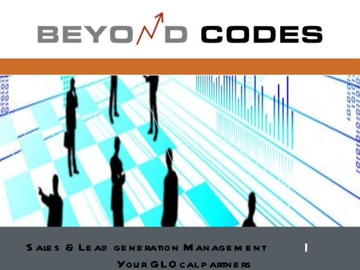 Sales   & Lead generation Management  |   Your GLOcal partners