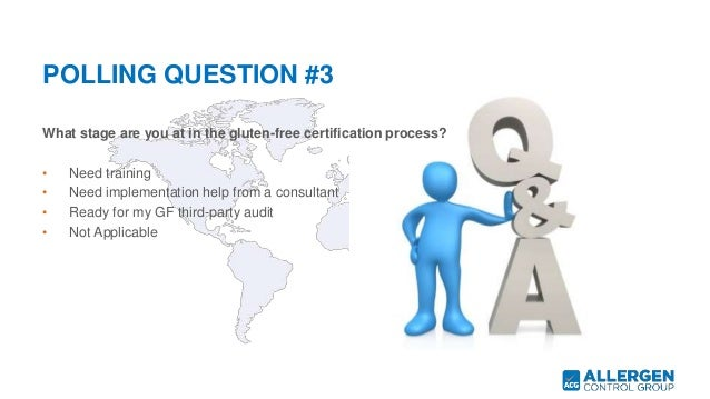 Strategies for a Successful Gluten-Free Certification