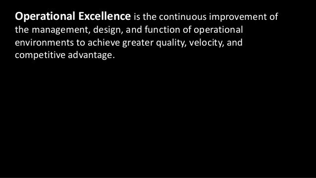 Operations Engineering • Service provider • Operational excellence driver • Cross-cutting solutions • Undifferentiated hea...