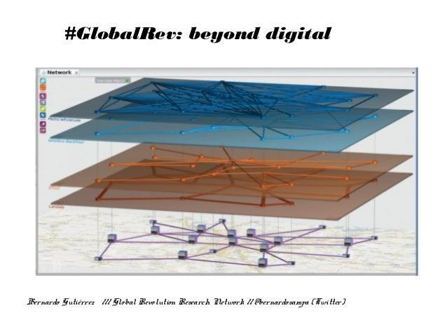 #GlobalRev: beyond digital Bernardo Gutiérrez /// Global Revolution Research Network // @bernardosampa (Twitter)
