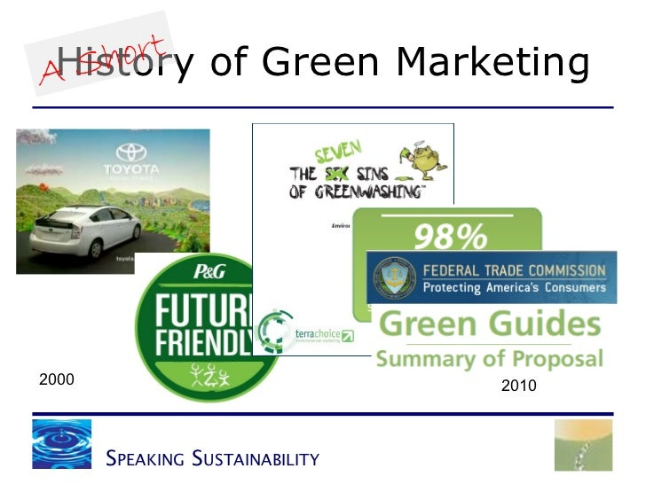 history of green marketing