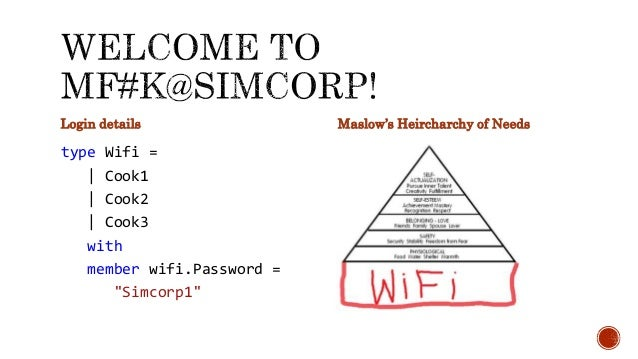 """Login details type Wifi = 