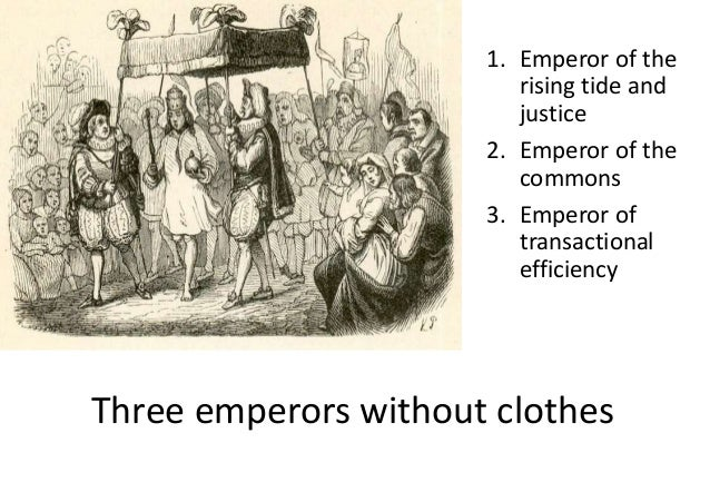 Emperor of transactional efficiency 17 • With homo economicus comes a tendency to ignore elements of relations that cannot...