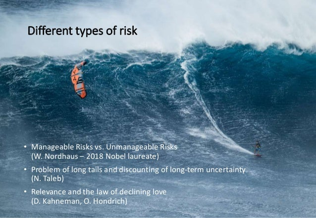 Risk domains Interesting, normal life Black Swan Domain Classical management domain Insurance and Casino domain High expos...