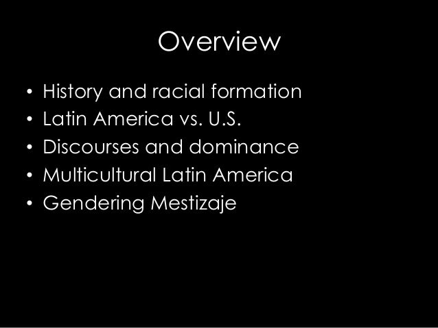 Racial Formations
