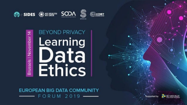 Opening session Richard Stevens, e-SIDES, IDC European Big Data Community Forum, 2019