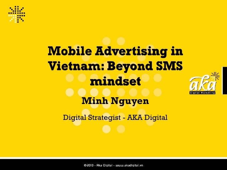 Mobile Marketing Beyond SMS