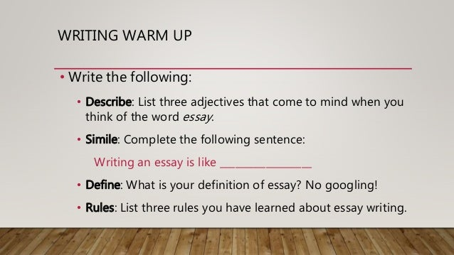 rules for writing a five paragraph essay Prepare for standardized tests by mastering essay writing the five paragraph essay is the most common structure for writing essays.