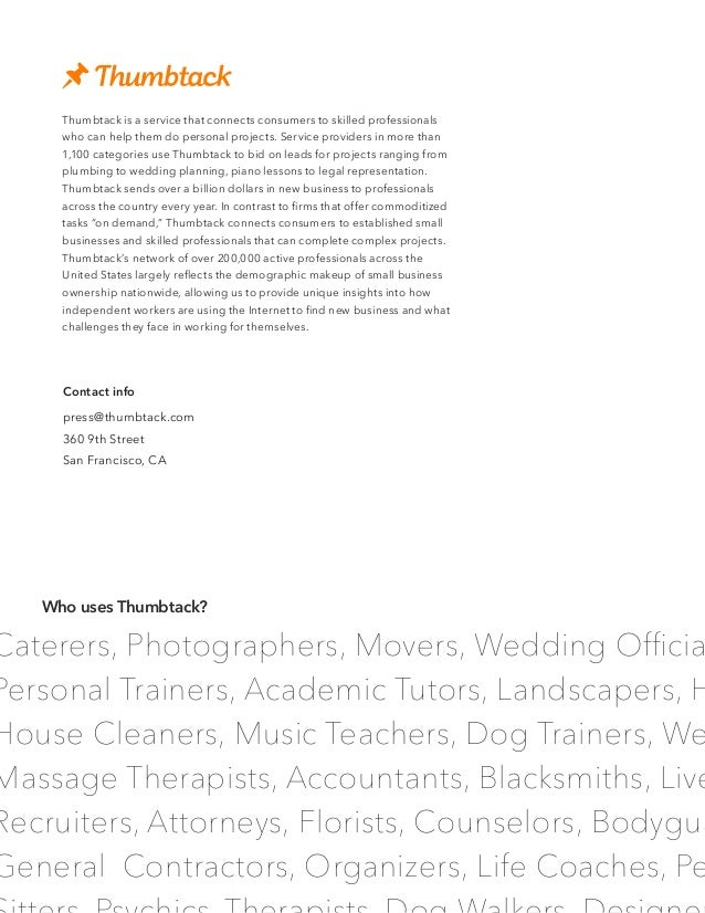 Caterers, Photographers, Movers, Wedding Officia Personal Trainers, Academic Tutors, Landscapers, H House Cleaners, Music ...