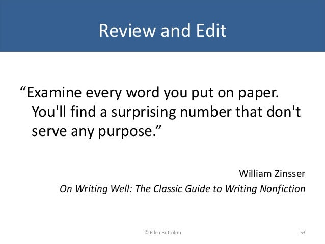 on writing well by william zinsser pdf download The classic guide to writing nonfiction by william knowlton zinsser pdf well: the classic guide to writing writing, sports, and humor download.