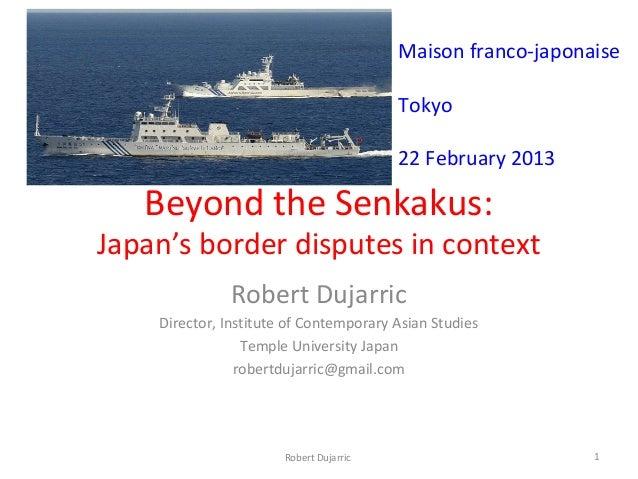 Maison franco-japonaise                                         Tokyo                                         22 February ...