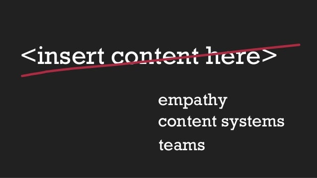 Beyond words   using content strategy for better ux Slide 2