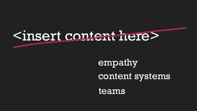 Beyond words - using content strategy for better ux Slide 3