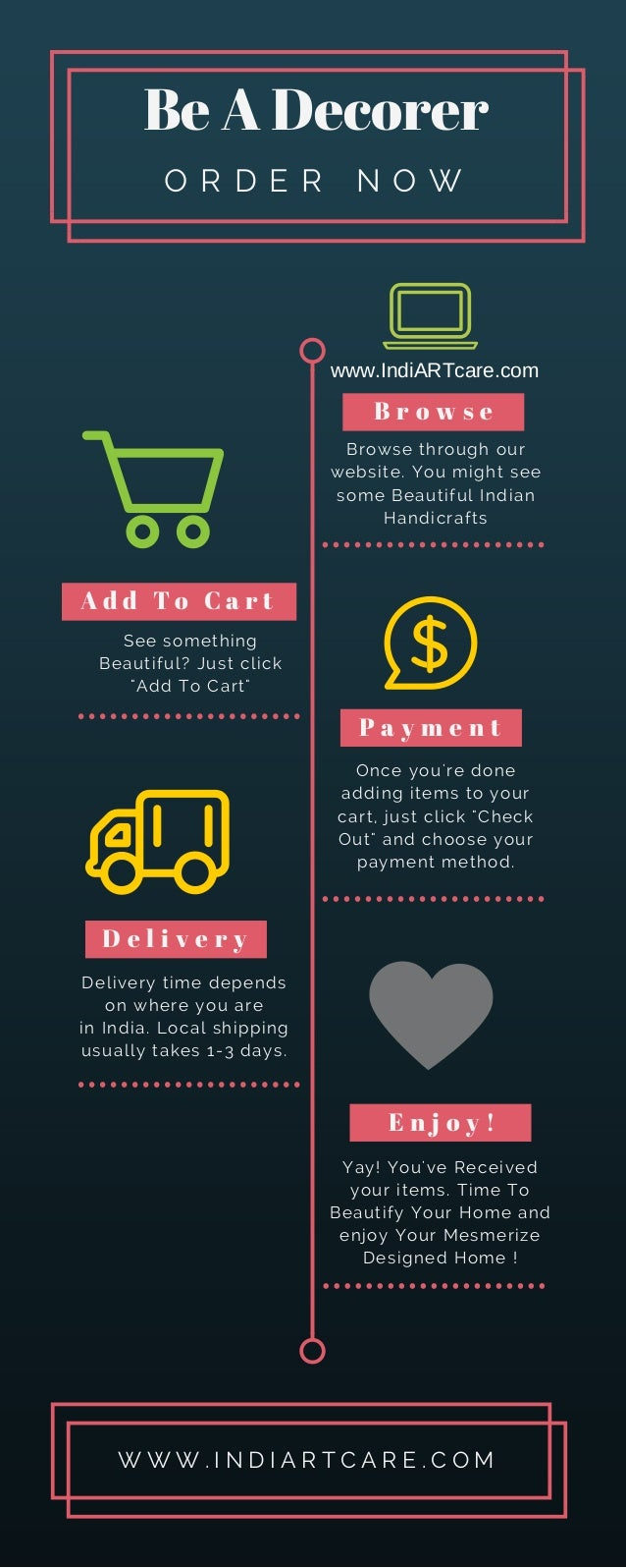 Be A Decorer With Indian Handicrafts Online Shopping Indiartcare