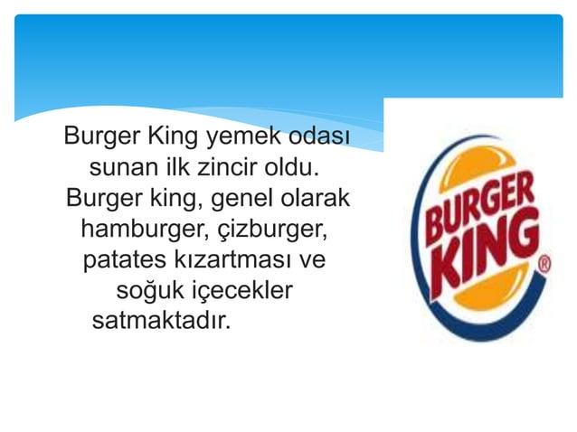 Sosyal Medyada Burger King